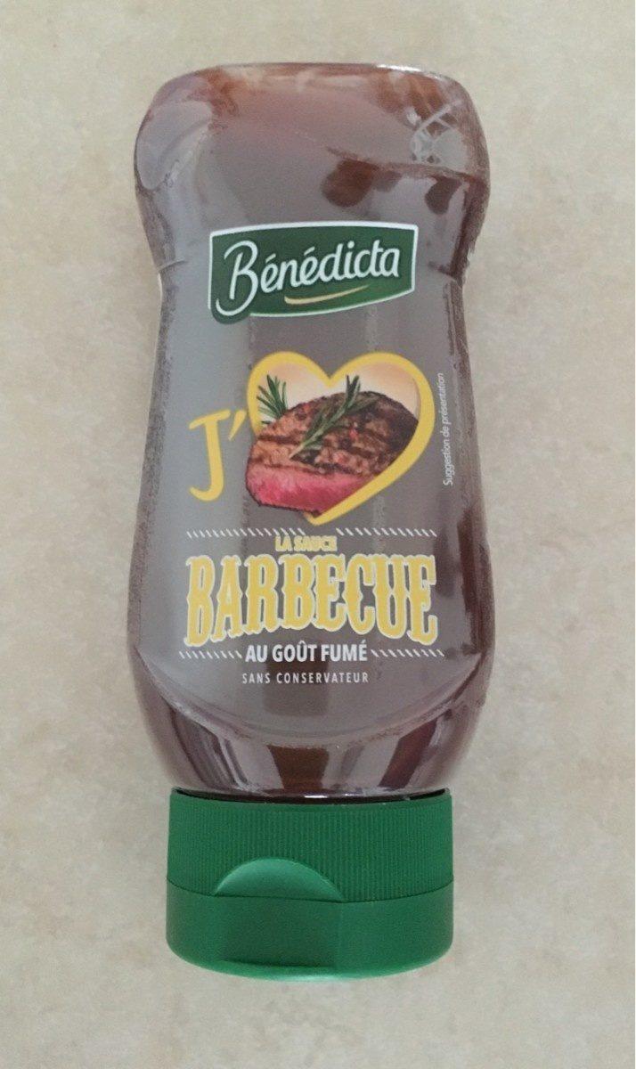 Sauce barbecue au goût fumé - Product
