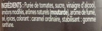Sauce barbecue au goût fumé - Ingrediënten