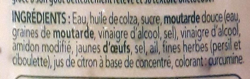 Sauce pomme frite - Ingredienti - fr