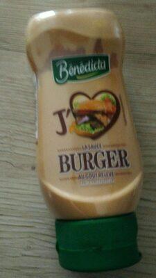 Sauce Burger au goût relevé - Produit - fr