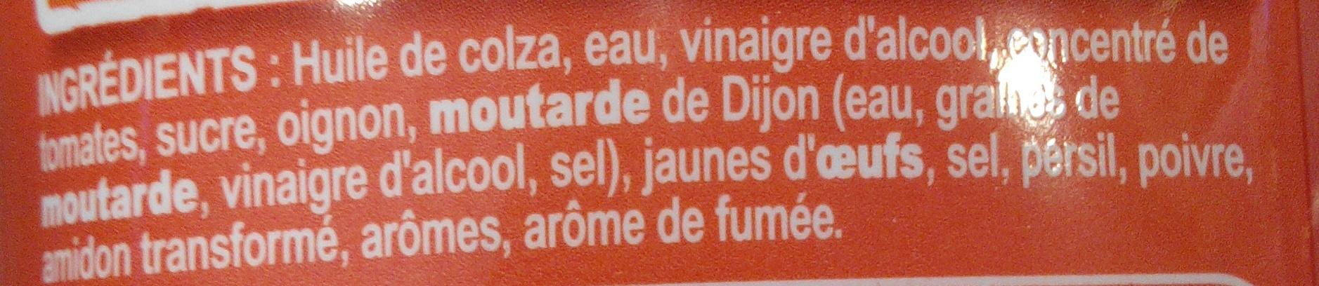 Sauce Burger au goût relevé - Ingrédients - fr