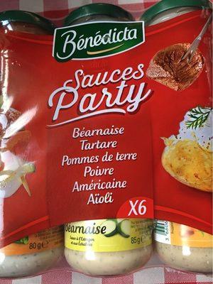 Sauces party - Voedingswaarden - fr