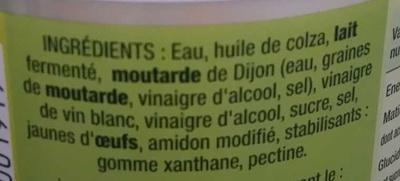 Sauce crudit s nature b n dicta a consommer quelquefois en petite quantit - Vinaigre blanc composition ...