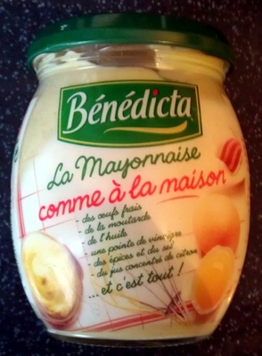 La Mayonnaise comme à la maison - Prodotto - fr