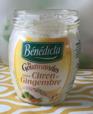 Sauce citron gingembre - Produit