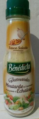 Moutarde à l'ancienne et sa pointe d'échalote - Product