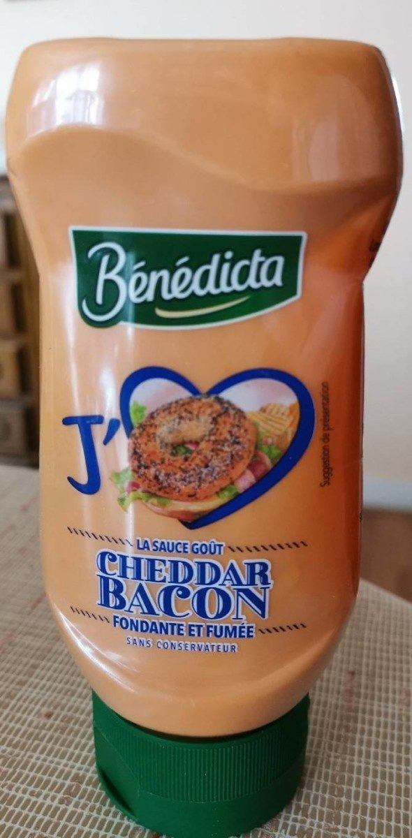 Sauce Cheddar Bacon - Product