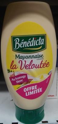 Mayonnaise légère La Veloutée au fromage blanc - Prodotto - fr