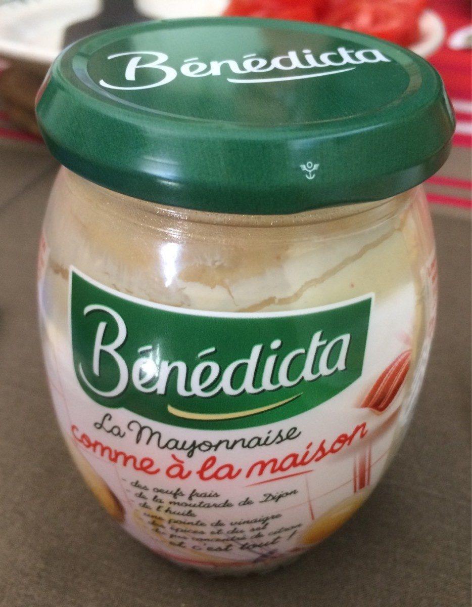 Mayonnaise Bénédicta comme à la maison - Prodotto - fr
