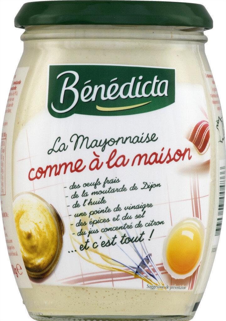 Mayo Maison 500 g Bénédicta - Prodotto - fr