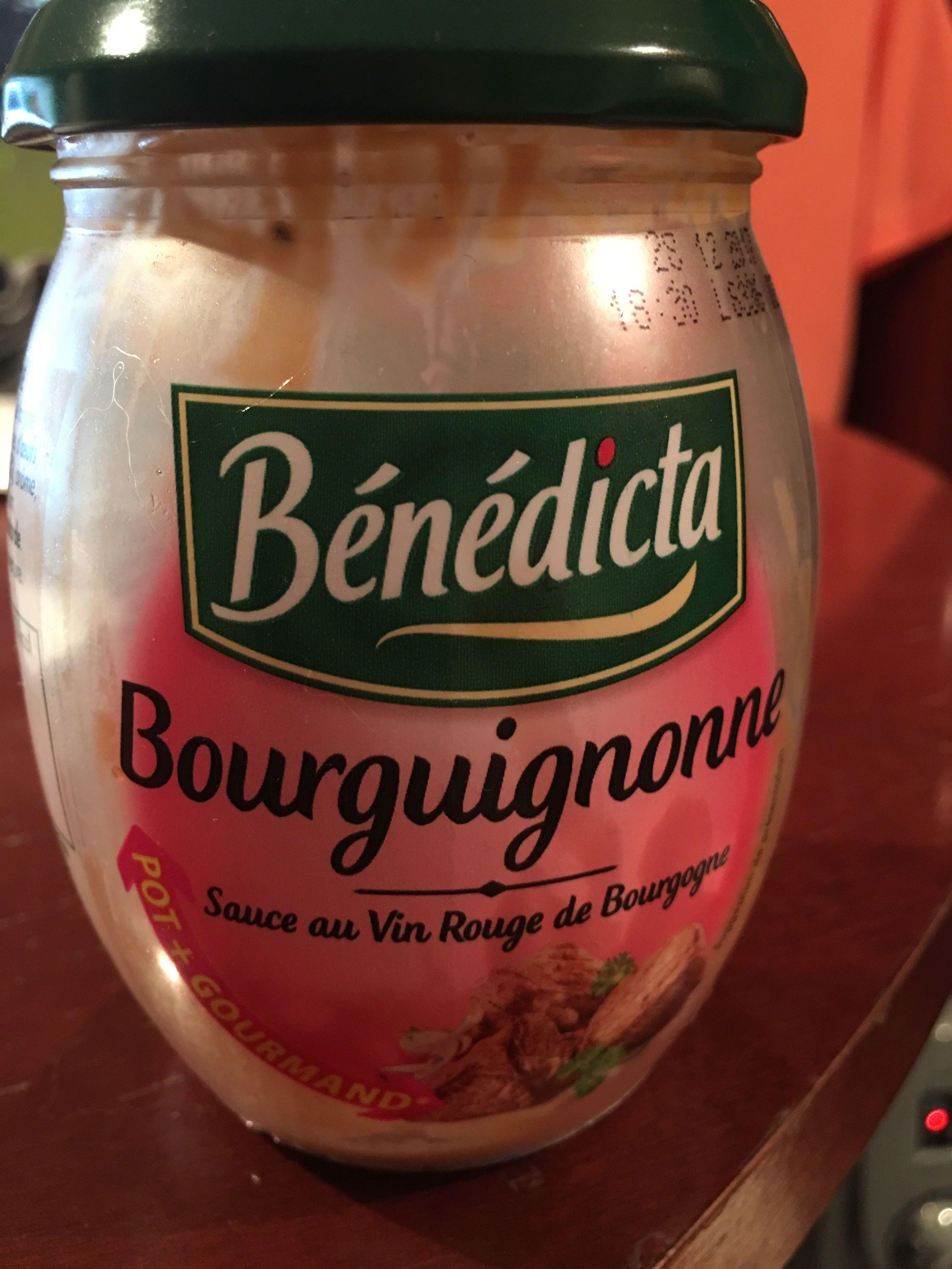 Sauce Bourguignonne - Product - fr