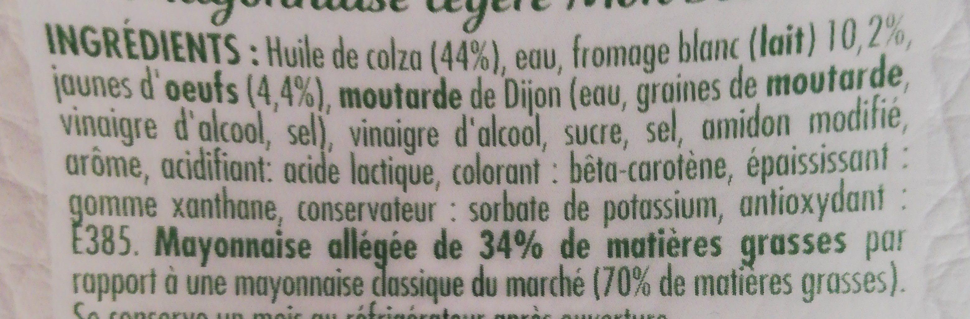 Bénédicta Mon Secret - Ingrediënten - fr