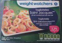 Tagliatelles Saint Jacques et son cocktail de fruits de mer - Product - fr