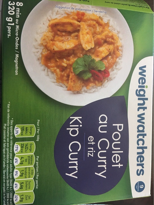 Poulet Au Curry Et Riz Weight Watchers 320 G