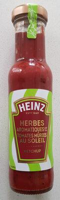HEINZ  Herbe aromatiques et tomates mûries  au soleil  KETCHUP - Prodotto - fr