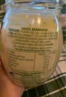 Béarnaise - Valori nutrizionali - fr