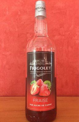 Sirop de fraise frigolet - Product