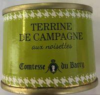 Terrine de Campagne aux noisettes - Produit - fr