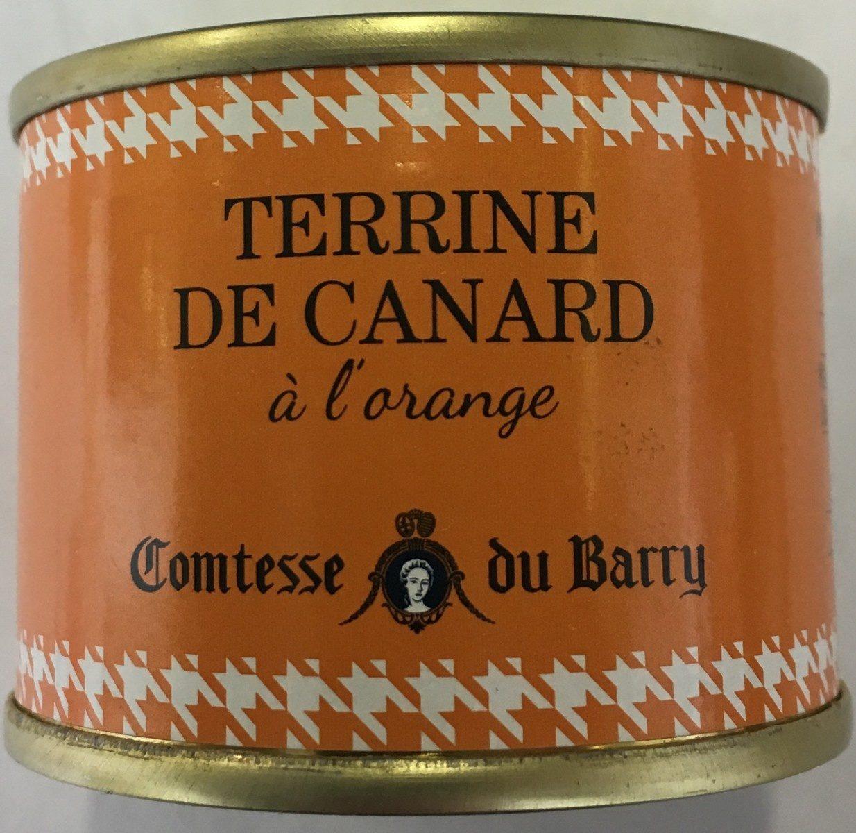 Terrine de canard à l'orange - Produit