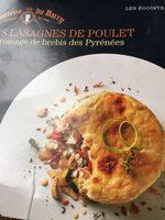 Lasagnes de poulet - Produit