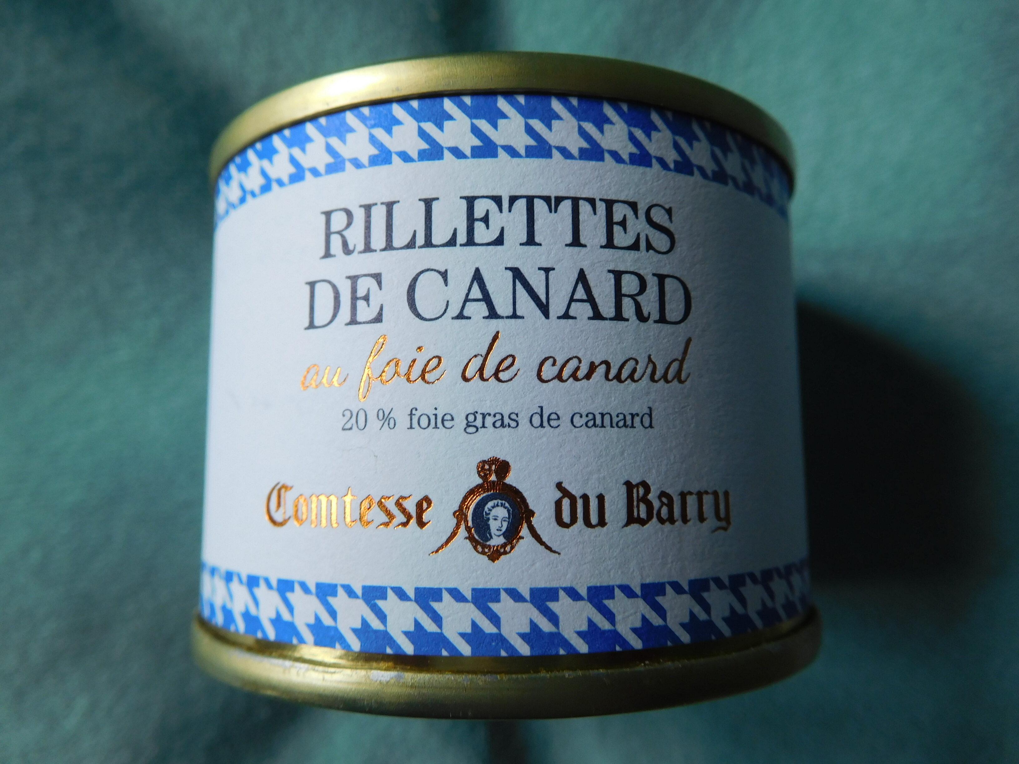 Rillettes de canard au foie de canard - Produit - fr