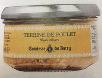 Terrine de poulet thym citron - Product
