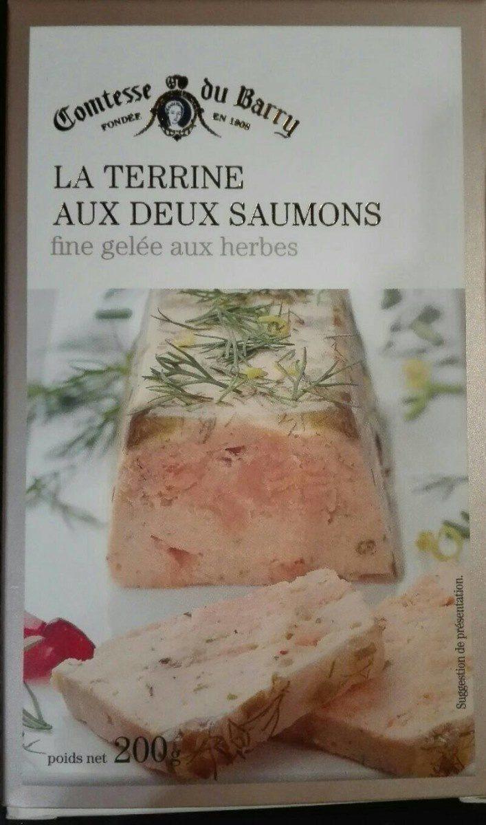 La terrine aux deux saumons - Product
