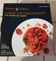 Comme une tomate farcie à la viande de canard - Produit - fr