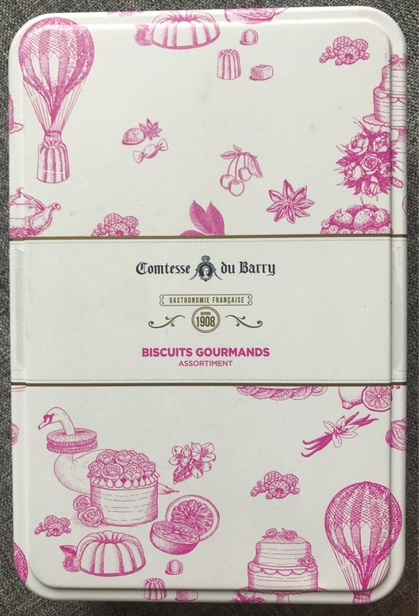 Collection de 25 biscuits fins assortis - Product