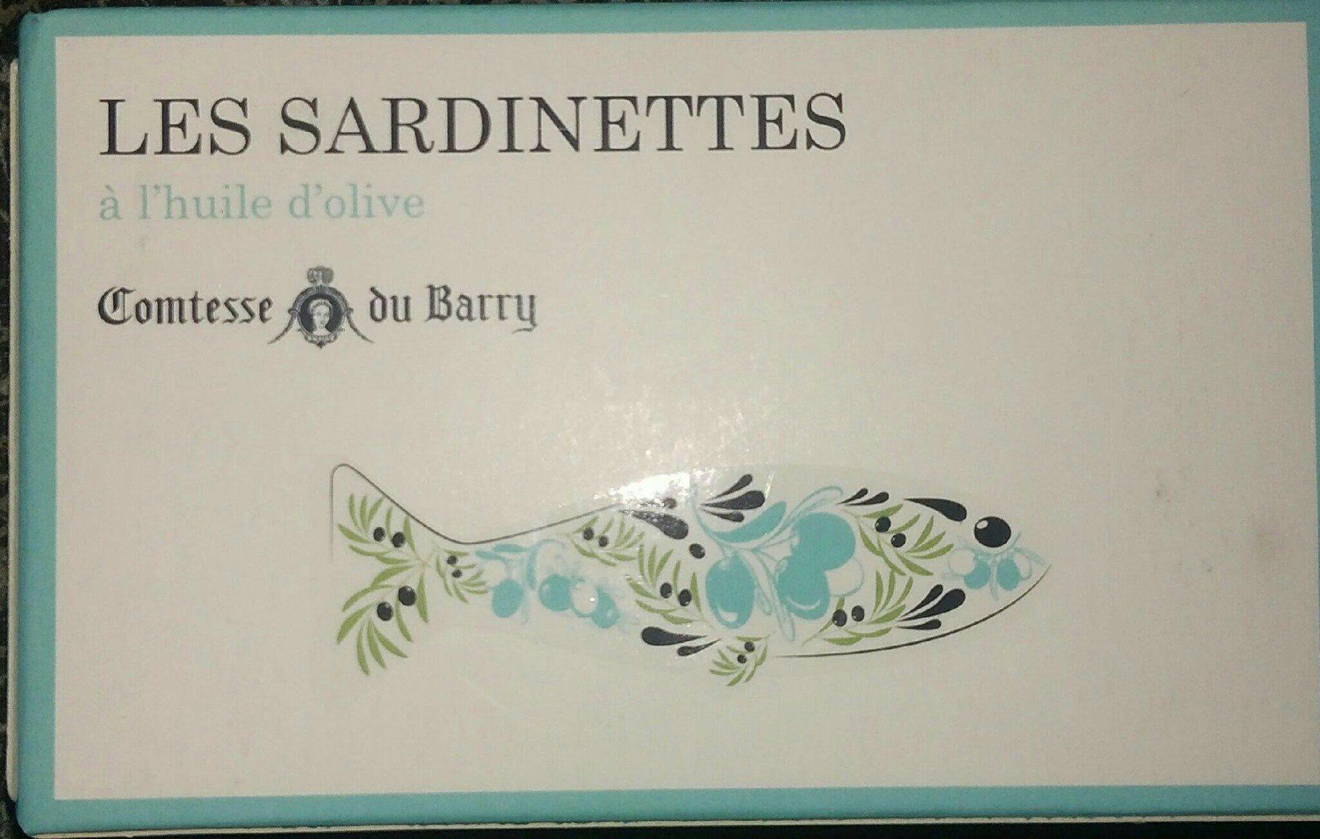 Les sardinettes à l'huile d'olive - Product