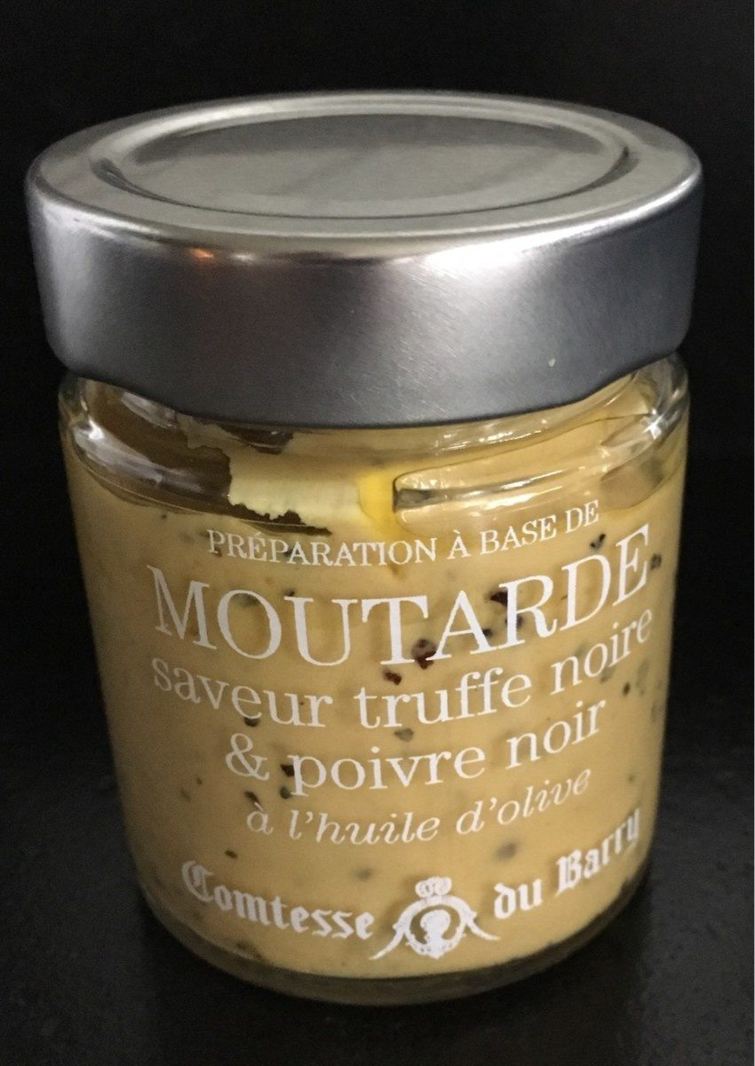 Moutarde truffe noire et poivre noir - Product