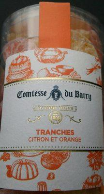 Tranches citron et orange - Produit
