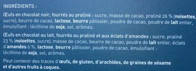 L'oeuf gourmand - Ingrediënten