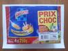 Coquillettes aux œufs frais (Lot de 4 paquets de 250 g) - Produit