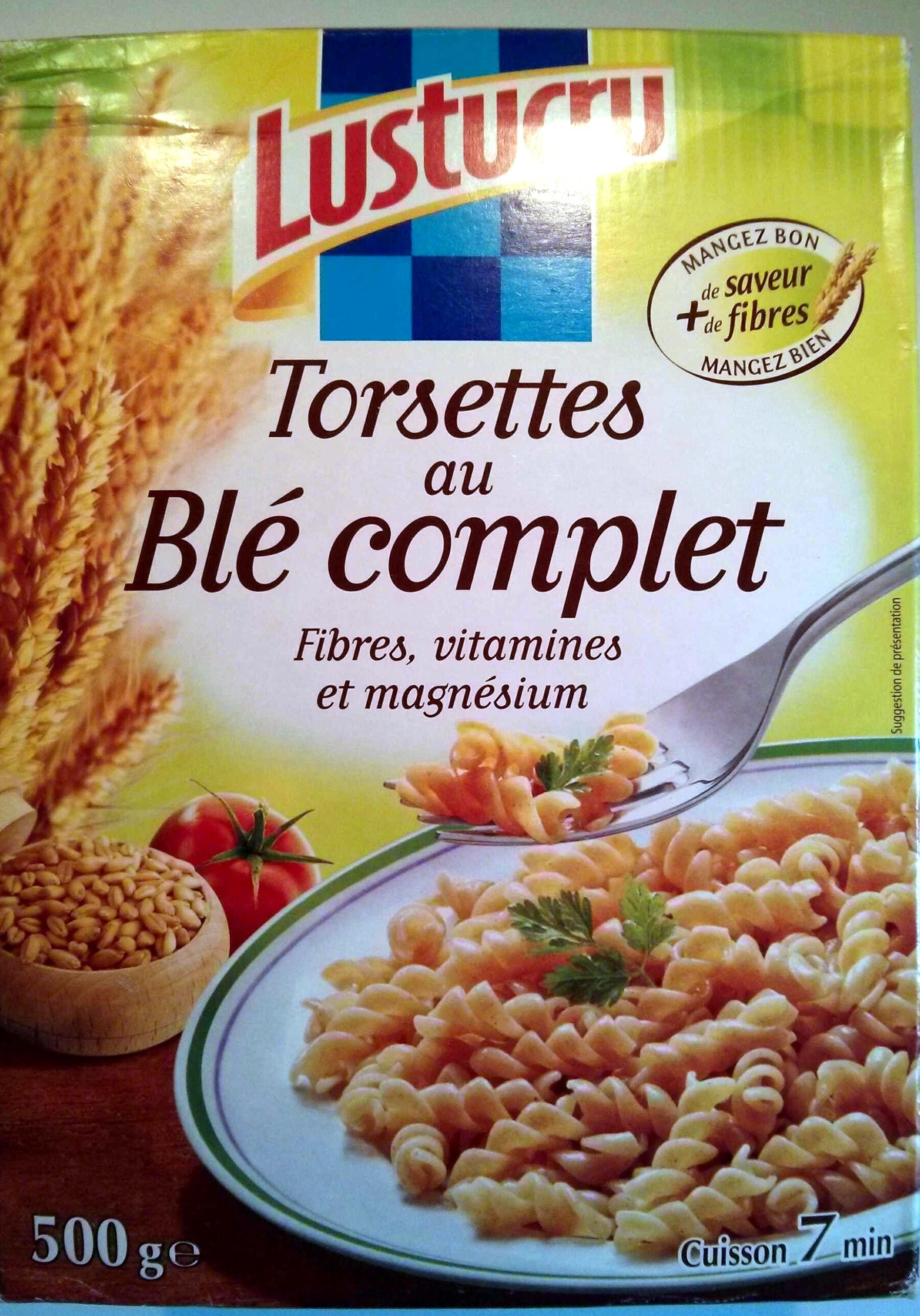 Torsettes au Blé complet - Produit