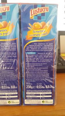 Torsettes aux œufs frais (Lot de 4) - 2