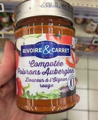 Compotée poivrons aubergine - Product