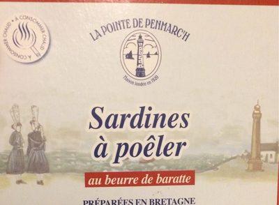 Sardine a poeler - Product