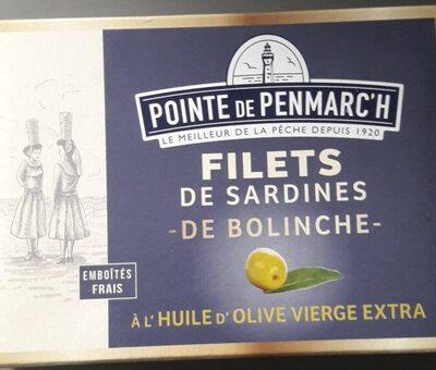 Filets de sardines de Bolinche - Produit