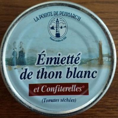 Emietté de thon blanc et confiterelles (Tomates séchées) - Produit