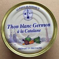 Thon Blanc Germon à la Catalane - Produit - fr