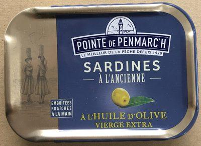 Sardines à L'ancienne à L'huile D'olive - Produit - fr