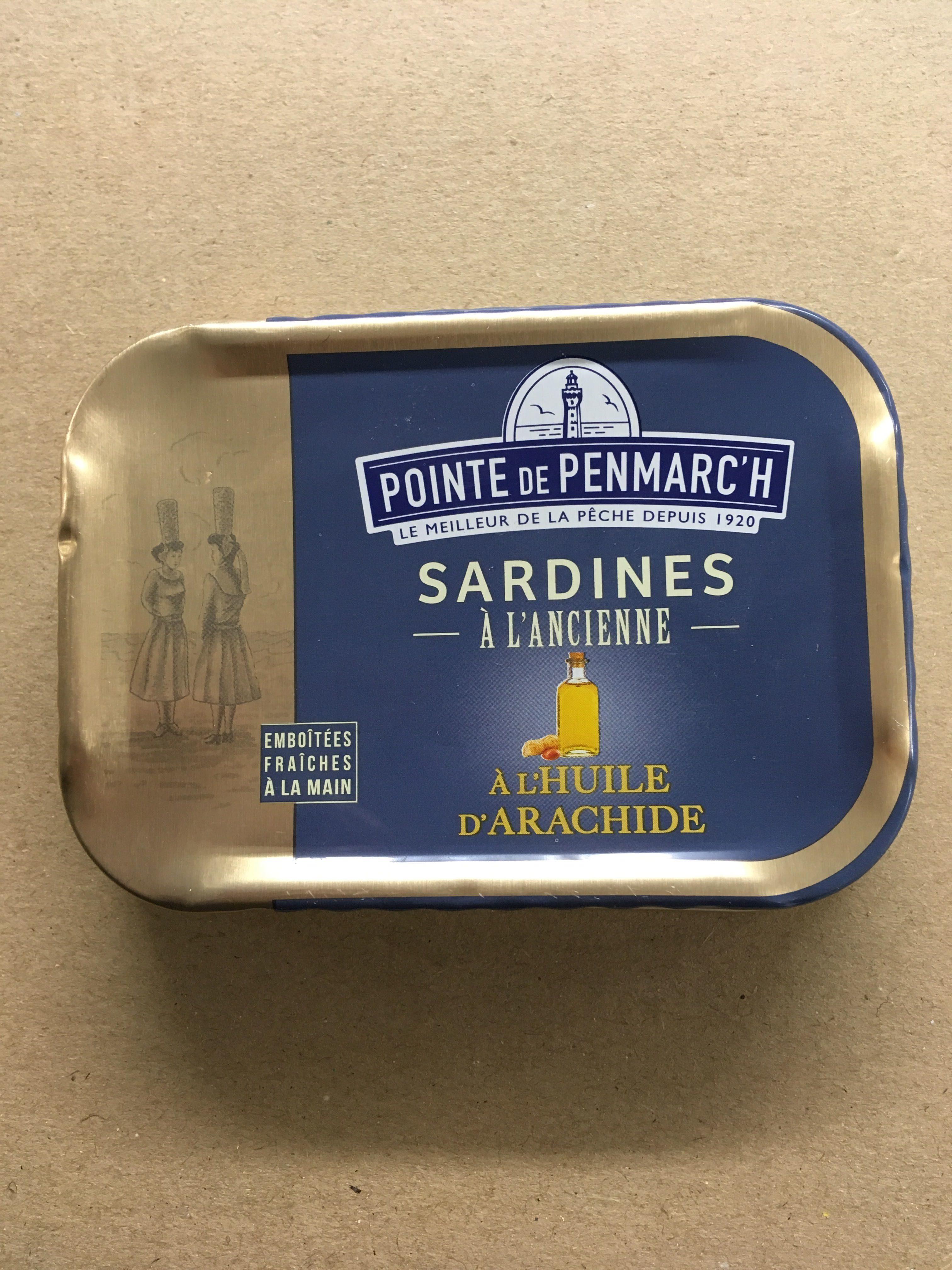 Sardine a l'ancienne huile d'arachide - Product