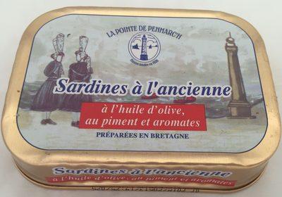 Sardines à l'Ancienne, à l'Huile d'Olive, au Piment et Aromates - Producto