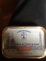 Sardine a l'ancienne - Produit