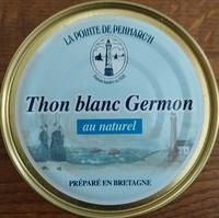 Thon blanc Germon au naturel - Produit
