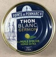 Thon Blanc Germon à l'Huile d'Olive Vierge Extra - Produit - fr