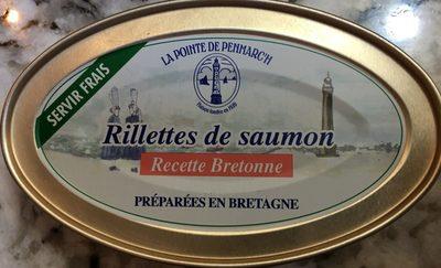Rilette de saumon Recette Bretonne - Product