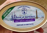 Thon à tartiner aux épices orientales - Produit - fr