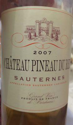 Sauternes 2007 - Product - fr